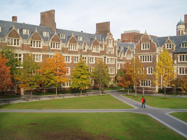 """University of Pennsylvania""(Университет Пенсильвании )"