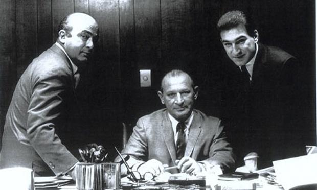 Фил (слева) и Леонард (по центру) Чесс