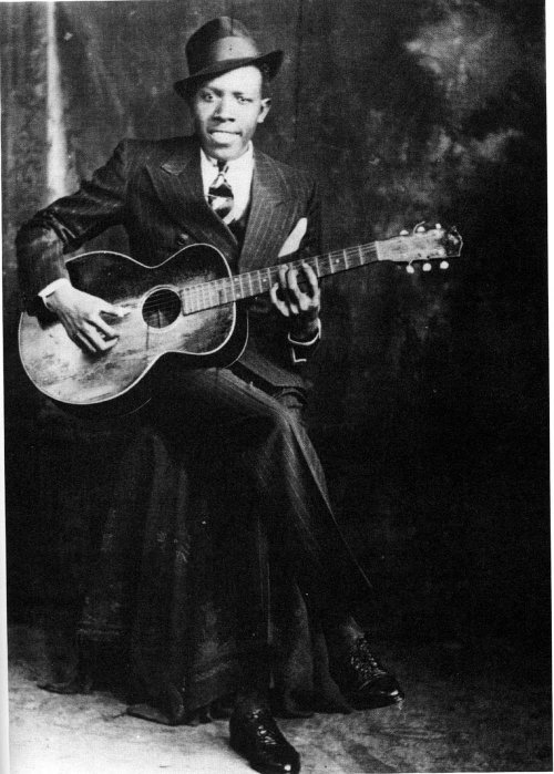 "Robert Johnson. Ниже блюз ""Me and the Devil Blues"""