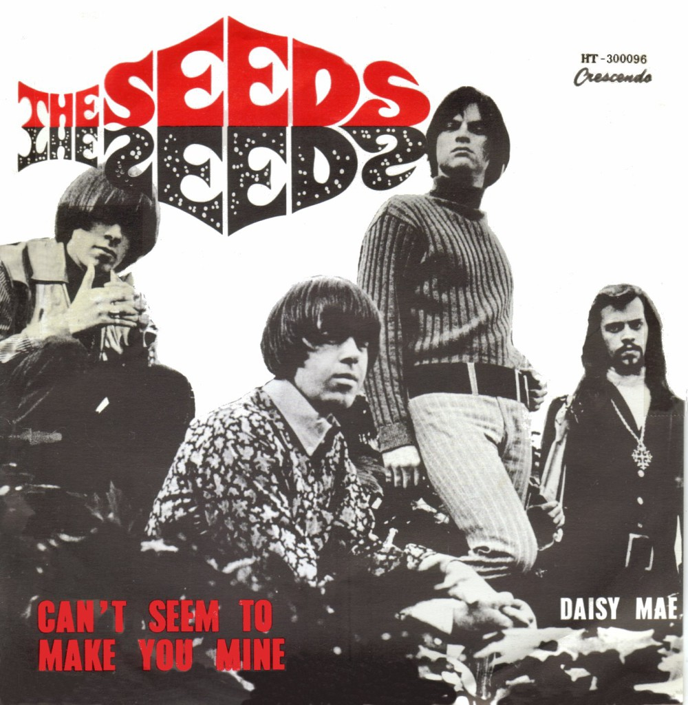 """The Seeds. Ниже """"Can't Seem to Make You Mine"""""""
