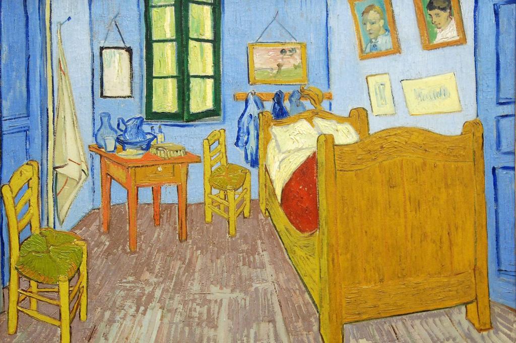 Винсент Ван Гог – Спальня в Арле, 1888
