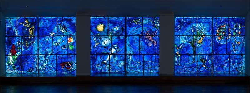 Марк Шагал – Американские окна, 1977