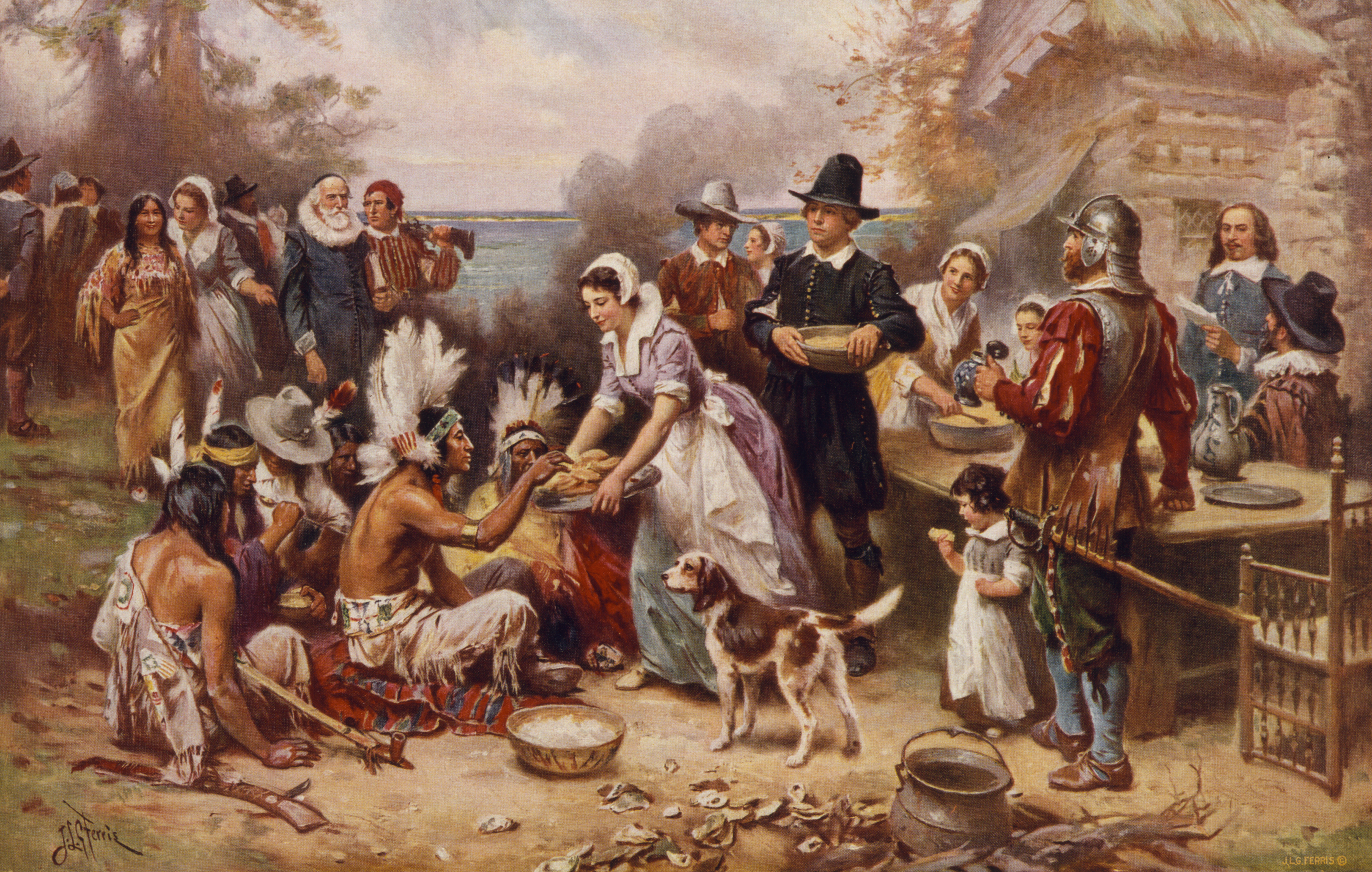 the puritans immigration to the new world History of immigration company in return for granting the company a large portion of the crops to be produced in the new world with the puritans.