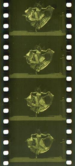 Кадры из кинетоскопа