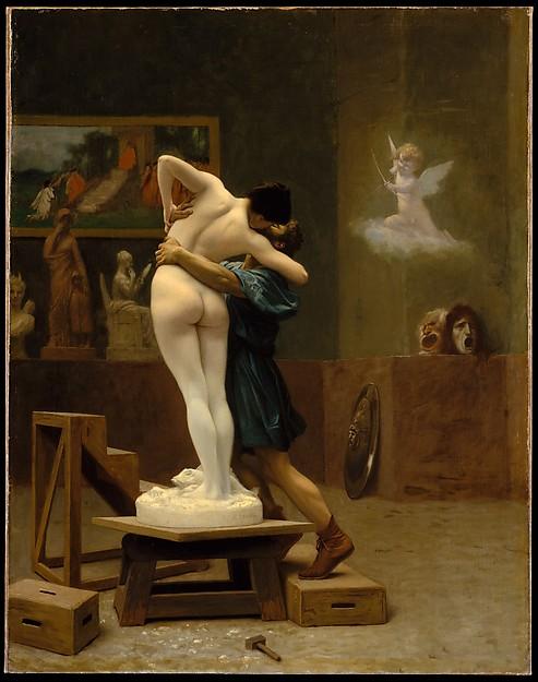 Жан-Леон Жером – Пигмалион и Галатея, 1890