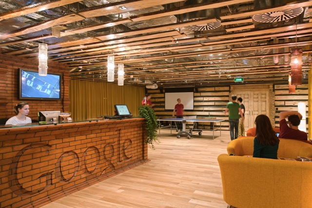 Google Moscow_Reception