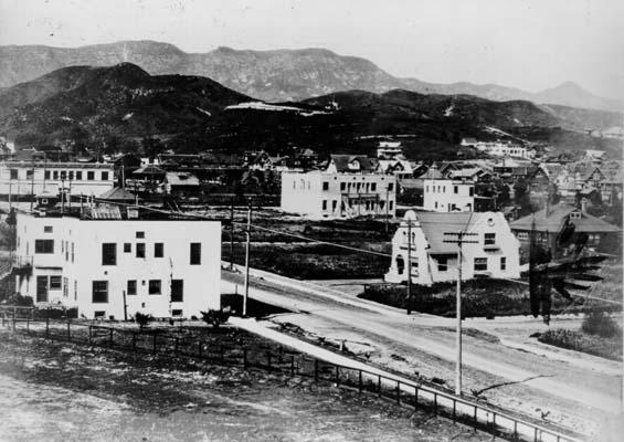 Голливуд 1907 год