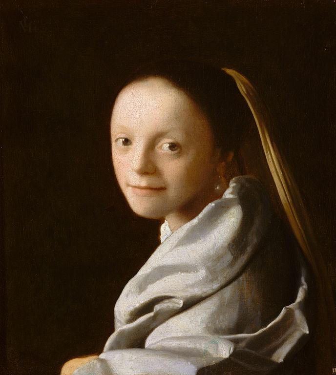 Ян Вермеер – Портрет молодой девушки