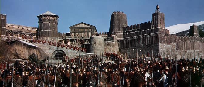 Падение Римской Империи реж. Энтони Манн 1964