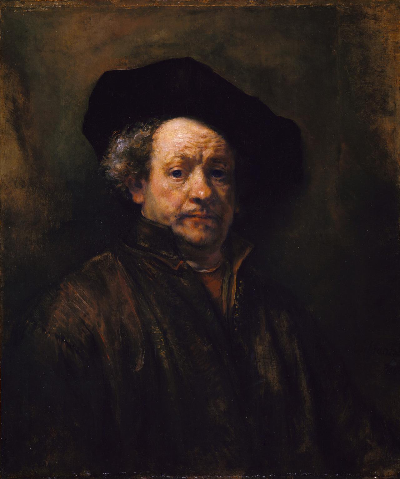 Рембрандт ван Рейн – Автопортрет, 1660