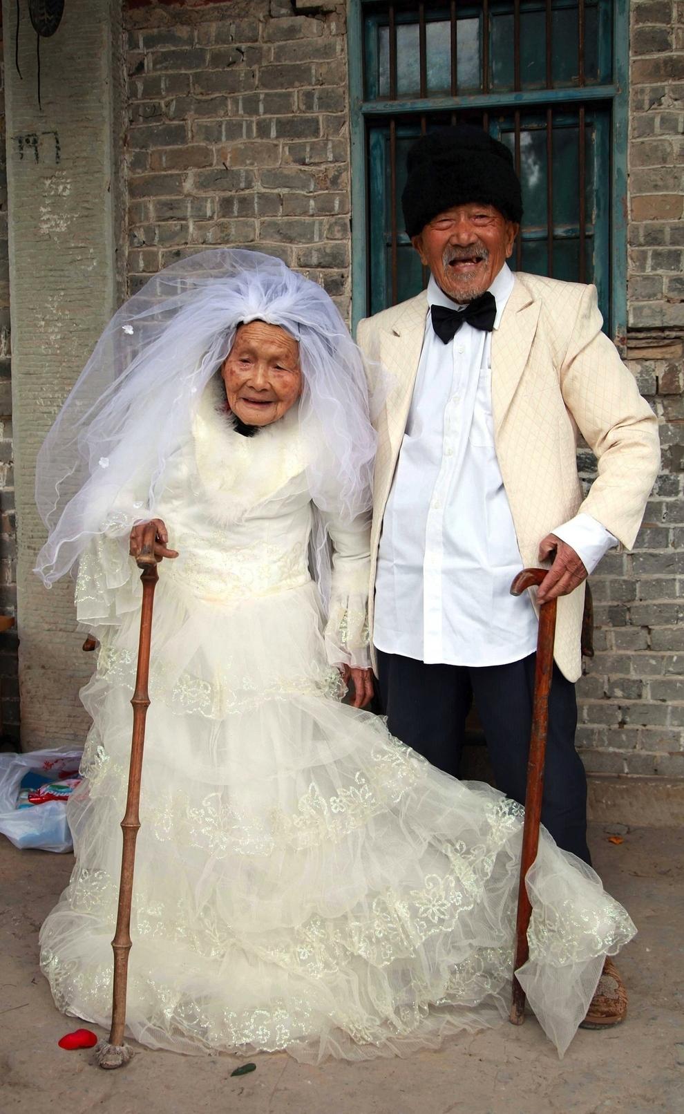 Свадьба старая невеста