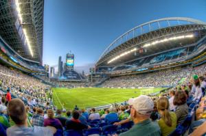 Стадион CenturyLink Field в Сиэтле