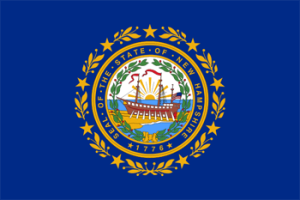 Флаг Нью-Гэмпшира