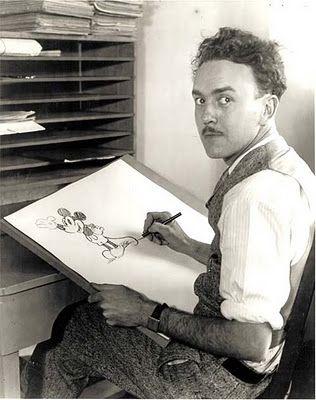 Юб Айверкс рисует Мортимера